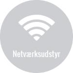 Netværksudstyr er en meget stor del af den samlede IT infrastruktur
